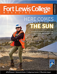 Fort Lewis College Magazine cover